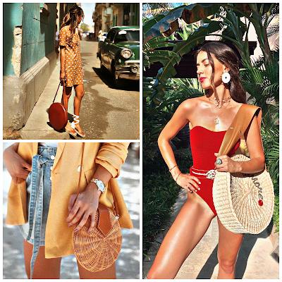 Bolsos redondos - Tendencia de moda 2019