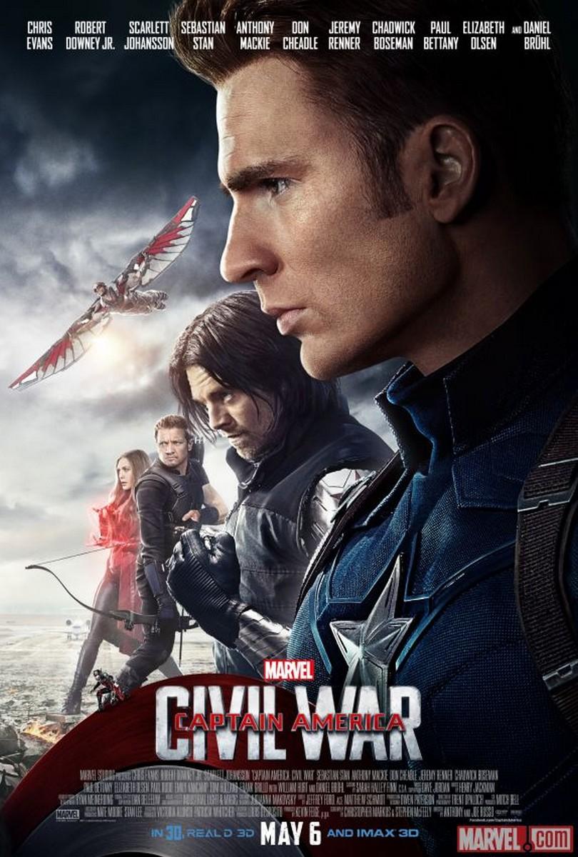 Xem Phim Captain America 3: Nội Chiến Siêu Anh Hùng 2016