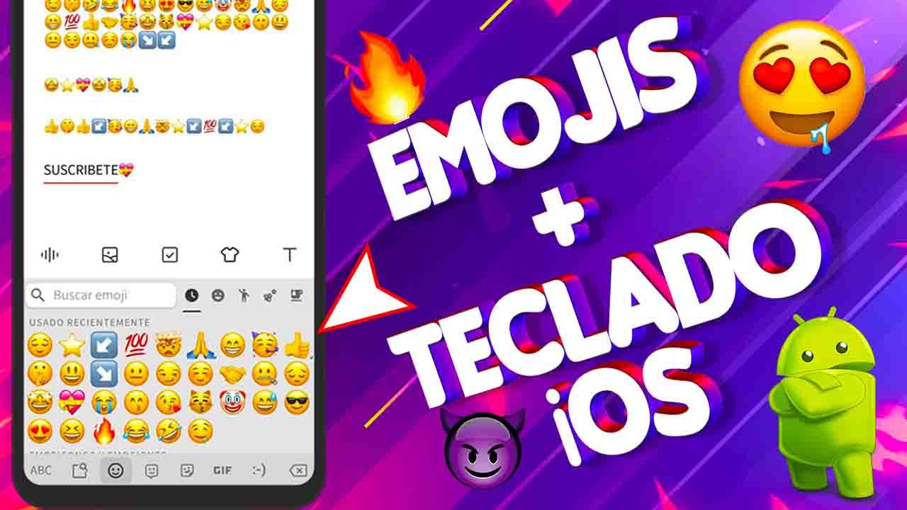 Emojis de iOS para Android