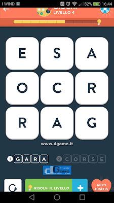 WordBrain 2 soluzioni: Categoria Giochi (3X3) Livello 4