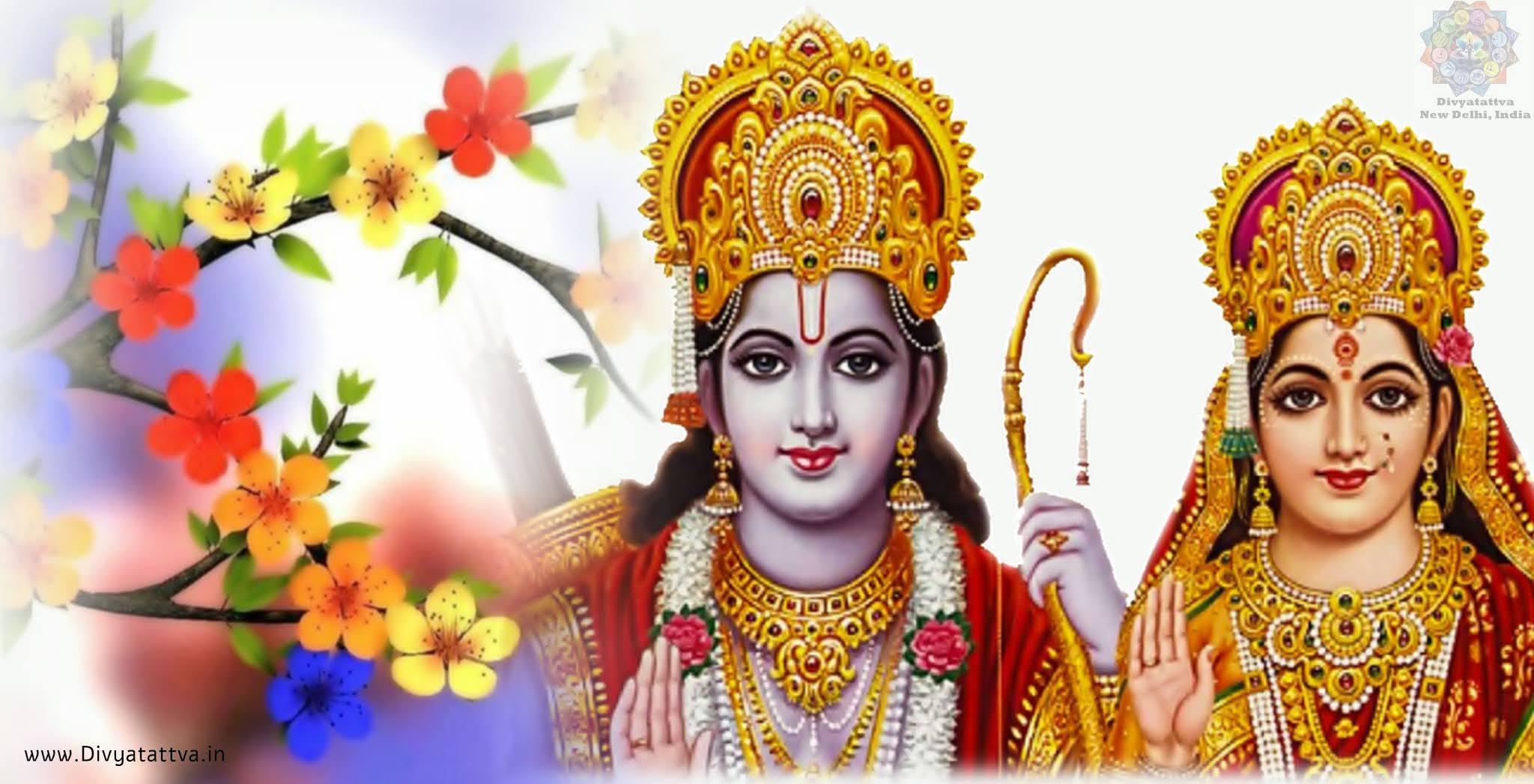 Hindu Gods Beautiful Photos of Lord Rama, Sita, Hanuman, Laxman or Rama Parivar Wallpapers