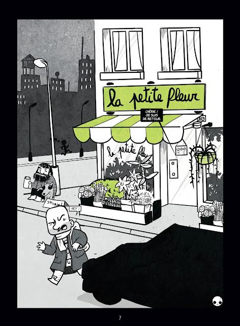 """page de """"LA PETITE MORT T4"""" de Davy Mourier chez Delcourt"""