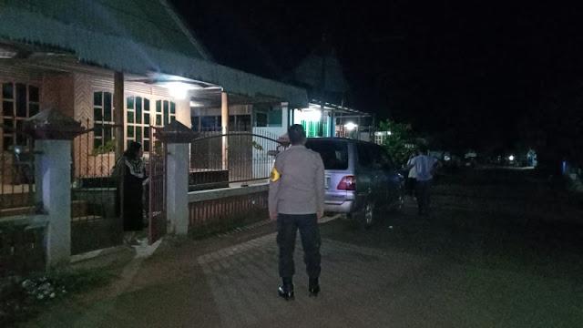 """Polsek Parenggean Laksanakan Patroli Malam Hari untuk Antisipasi Tindak Kejahatan Kamtibmas """""""