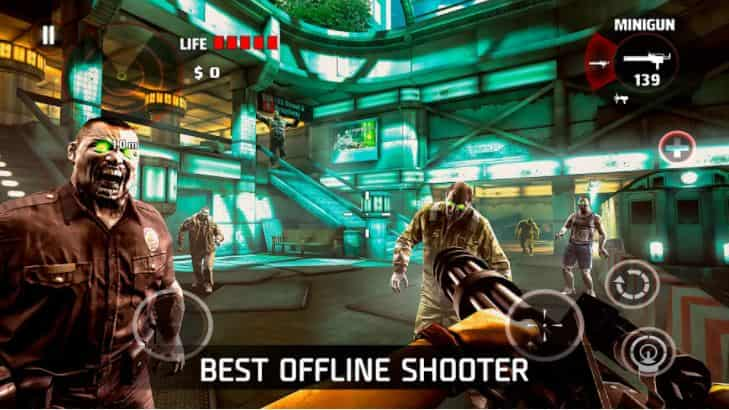 DEAD TRIGGER v2.0.1 MOD, Mega Features - Game hành động cho điện thoại