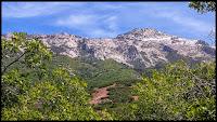 Lone Peak Mountain Range