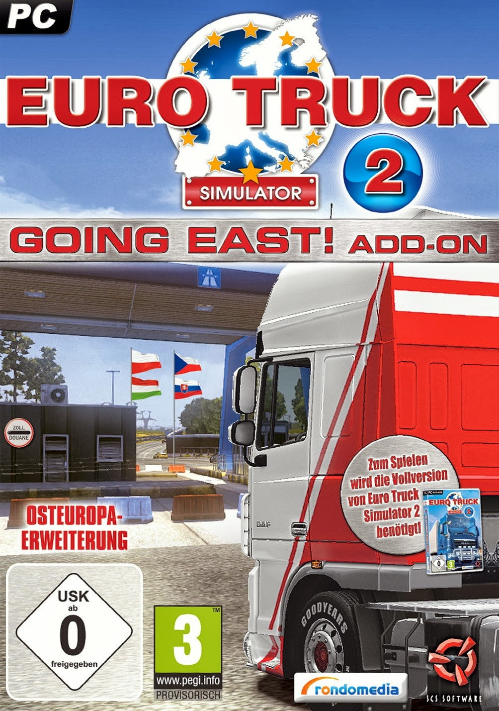 Euro Truck Simulator 2 Going East PC Video Game Full
