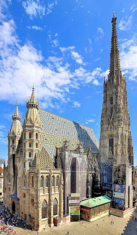 A catedral de Viena dedicada a Santo Estevão