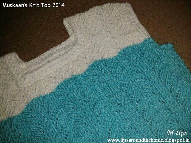 Muskaans Tips Muskaans Knit Top 2014