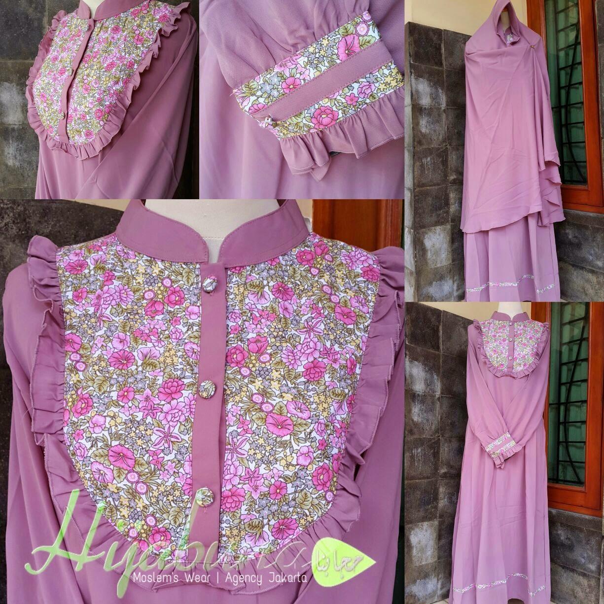 Agen Resmi Hijabuna Baju Gamis Lebaran 2015