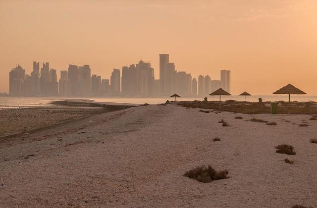 Al Safliya Island: One of the best spots to view Doha's skyline