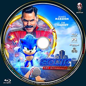 Caratulas Mountain Sonic The Hedgehog 2019 Dvd Cover