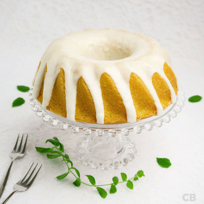 Recept Geglazuurde citroentulband met zonnebloemolie