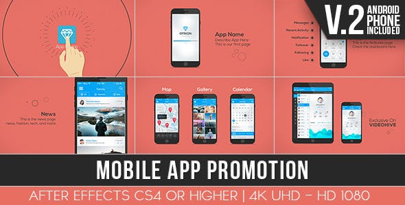 Mobile App Promotion[Videohive][After Effects][12141052]