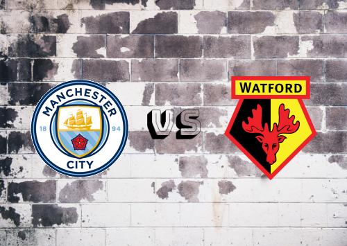Manchester City vs Watford  Resumen y Partido Completo