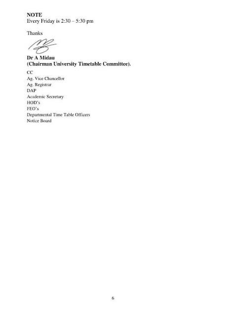 ADSU Exam Time-Table for 2nd Semester 2021/2022 [Final Draft Version]