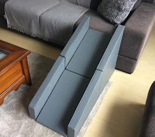 rampas de acesso a sofá com guard rail