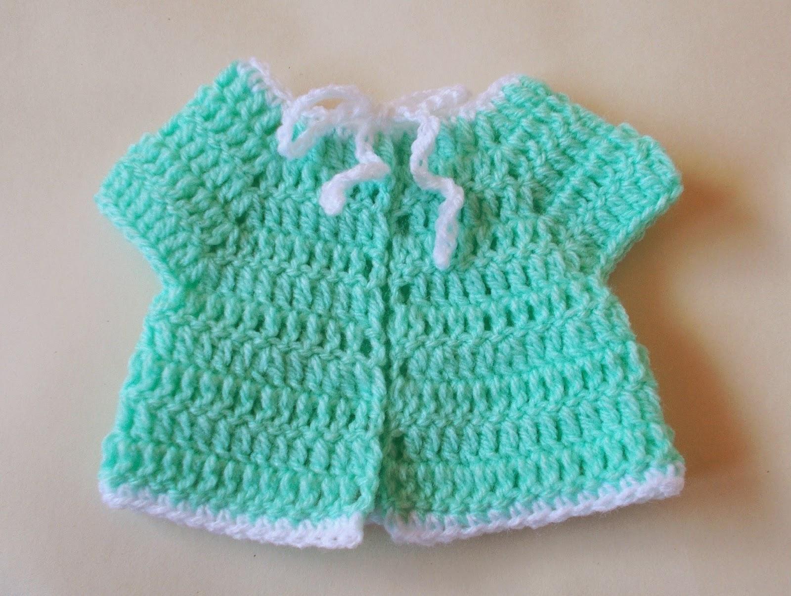 Marianna s Lazy Daisy Days Premature Baby Crochet Baby Jacket