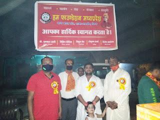 शहर की गलियों में निकली शिव बरात हुआ जगह जगह माल्यार्पण कर स्वागत