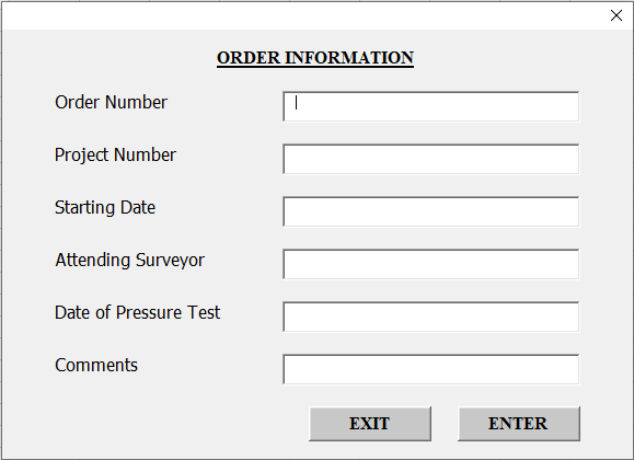 VBA Userform