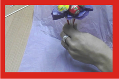Flor de papel para hacer el ramo