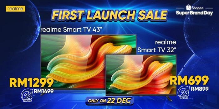Realme Smart TV Promo Price Sale