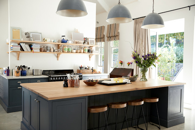 Unique Kitchen Open Shelves Design Ideas On A Budget