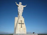 Sagrado Corazón en el Pico Paisano o Naranco, Oviedo