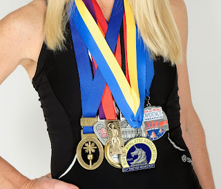 goals holly zimmermann boston marathon medals ultramarathon mom running everest