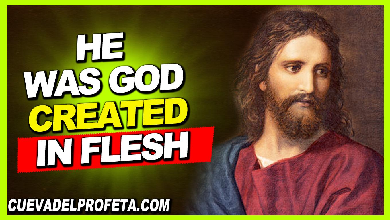 He was God created in flesh - William Marrion Branham