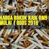 Harga Rokok Naik RM9 Mulai Mulai 1 Ogos 2016