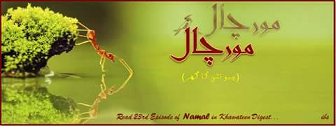 Urdu Novel Namal By Nemrah Ahmed episode 23rd read online and free download