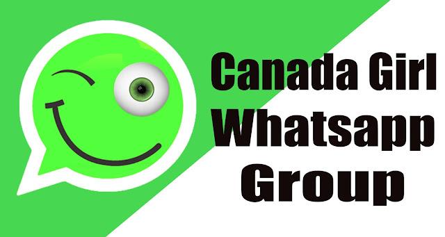 Canada Girl WhatsApp group link