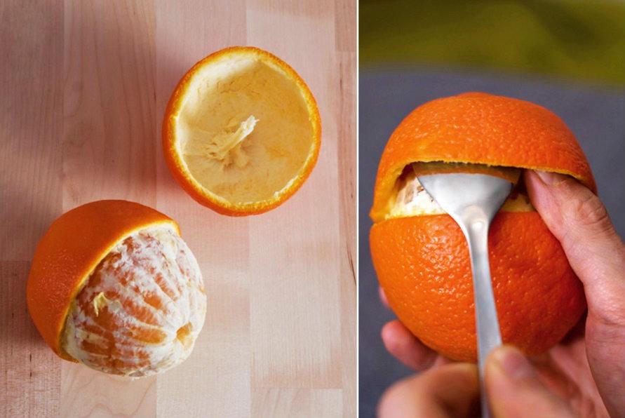 Portakal Kabuğundan Mum Yapımı