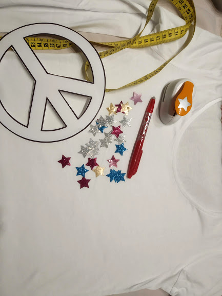 materiales para diy camiseta