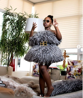 GX GOSSIP: Timaya's first daughter, Emma marks her 8th birthday with new a stylish photos