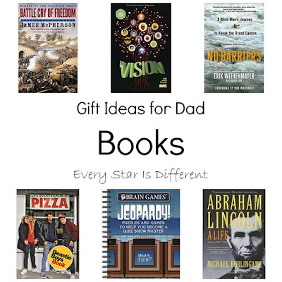 Gift Ideas for Dad-Books