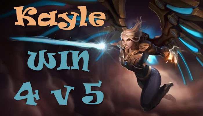 WANTED Kayle | 4 v 5 | League of Legends | LoL