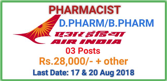 pharmacists-job-at-air-india-limited