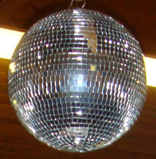 Auntie Margaret's disco ball plays Confusion, New Order