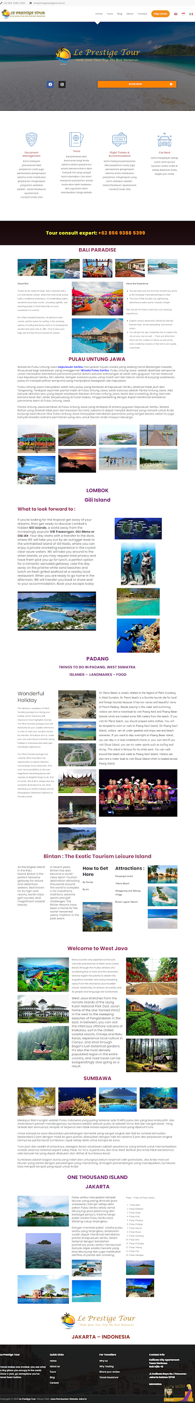 Klien Kami Dibidang Jasa Tour & Travel