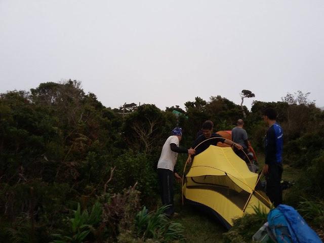Campsite ng Mt. Napulauan
