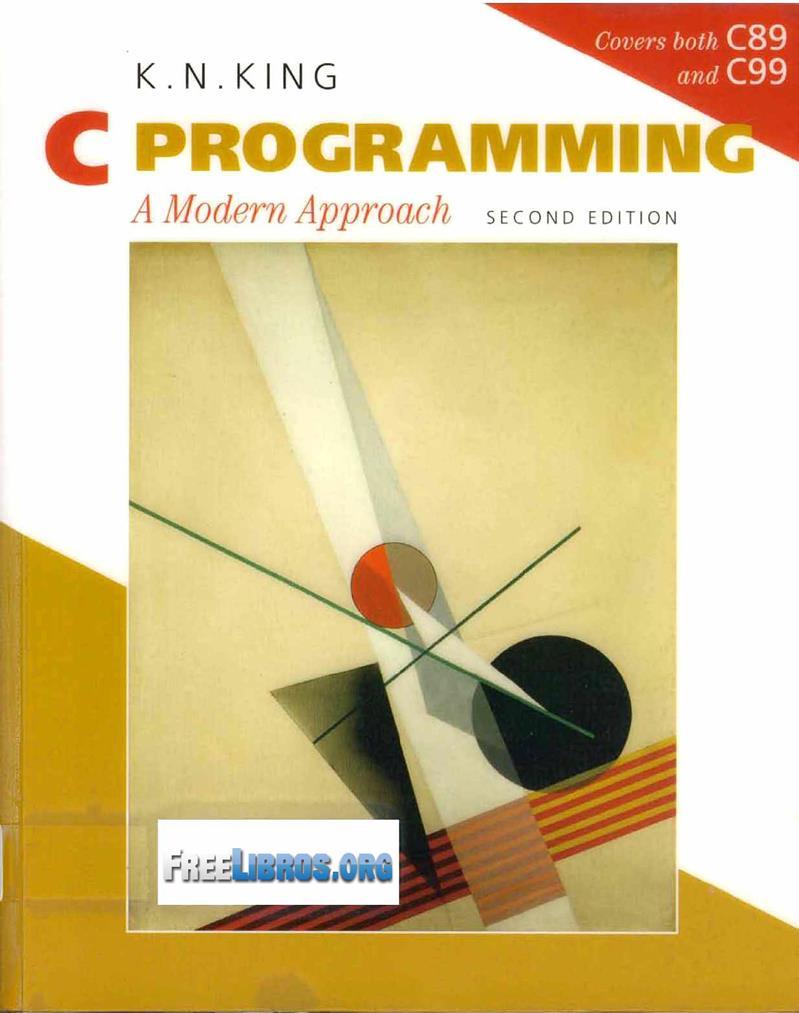 C Programming, 2nd Edition – K. N. King