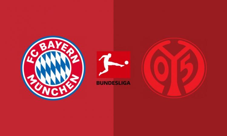 بث مباشر مباراة بايرن ميونخ وماينز
