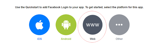 OAuth2 Facebook Choose Platform