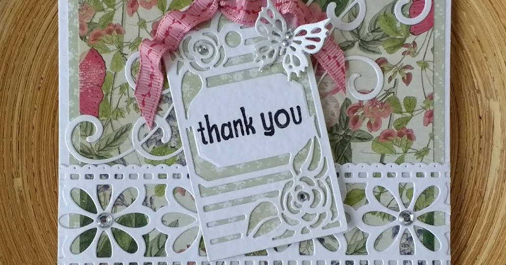 Blanchardstown Inspiring Ideas: A Passion For Cards: Thank You