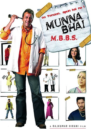 Munna Bhai M.B.B.S. 2003 Hindi 450MB DVDRip 480p