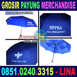 Jual Merchandise Payung Murah Grosir DPPKA Bidang Pendapatan