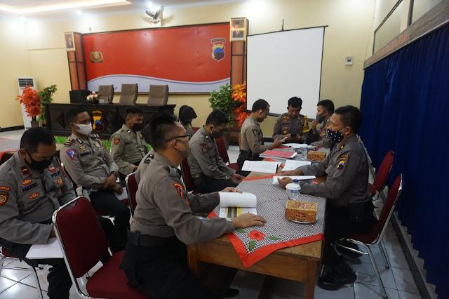 Polres Purbalingga Terima Tim Supervisi Operasi Aman Nusa II Candi