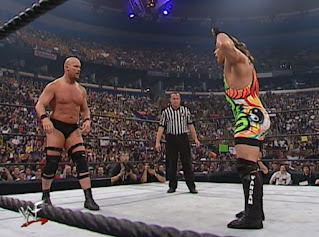 WWE / WWF No Mercy 2001 - RVD lets Steve Austin know exactly who he is