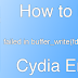 Fix failed in buffer_write(fd) (8, ret=-1) Cydia Error iOS 9.3.3
